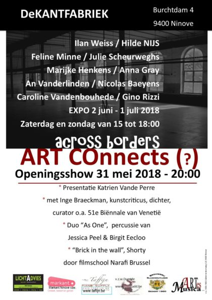 "affiche ""ART Connects (?), Across Borders"""