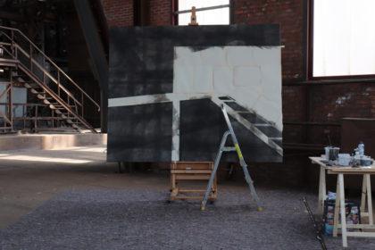 ANV schilderij in opbouw cdb3 2018-05-11 13u be-mine